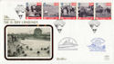 1994-06-06 D-Day 50th Anniv Portsmouth Silk FDC (60510)