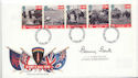 1994-06-06 D-Day Stamps B Bent Signed FDC (60525)