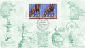1999-09-21 Milennium Booklet Stamps Windsor FDC (60531)