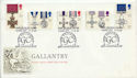 1990-09-11 Gallantry The George Cross London SW FDC (60538)