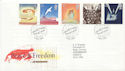 1995-05-02 Peace And Freedom Bureau FDC (60546)