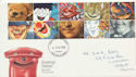 1990-02-06 Greetings Stamps Cardiff FDC (60550)