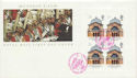 1990-03-20 London Life Blkt Stamps Tower Hill FDC (60552)