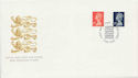 1990-08-07 Definitive Stamps Windsor FDC (60557)