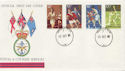 1980-10-10 Sport Stamps Forces cds FDC (60562)