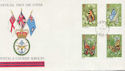 1981-05-13 Butterflies Stamps Forces cds FDC (60563)
