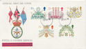 1980-11-19 Christmas Stamps Forces cds FDC (60564)