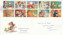 1994-02-01 Greetings Stamps Cardiff FDC (60568)