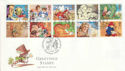 1994-02-01 Greetings Stamps Wolfsdale FDC (60570)