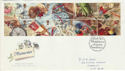1992-01-28 Greetings Stamps Whimsey FDC (60575)