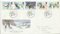 1990-11-13 Christmas Stamps Bethlehem FDC (60587)