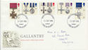 1990-09-11 Gallantry Stamps Cardiff FDC (60588)