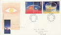 1991-04-23 Europe in Space Stamps Cardiff FDC (60590)