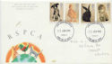 1990-01-23 RSPCA Stamps Cardiff FDC (60611)
