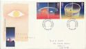 1991-04-23 Europe in Space Stamps Cardiff FDC (60629)