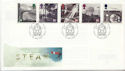 1994-01-18 Steam Railways York FDC (60634)