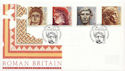1993-06-15 Roman Britain Stamps Caerleon FDC (60645)