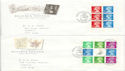 1993-08-10 Beatrix Potter Bklt Catton Hexham x4 FDC (60649)