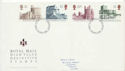 1992-03-24 High Value Castles Definitive London FDC (60666)