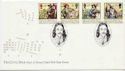 1992-06-16 Civil War Stamps Naseby FDC (60669)