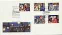 1992-11-10 Christmas Stamps Porthcawl FDC (60673)