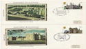 1978-03-01 Historic Buildings x4 Silk FDC (60845)