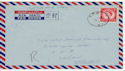 1955 Forces Air Mail Hong Kong to UK FPO cds (60860)