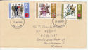 1971-08-25 Anniversaries Stamps Darlington FDC (60890)