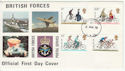 1978-08-02 Cycling Stamps FPO cds FDC (60917)