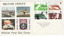 1977-01-12 Racket Sports Stamps FPO cds FDC (60921)