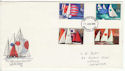 1975-06-11 Sailing Stamps Chichester FDC (60962)