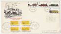 1975-08-13 Welshpool & Llanfair Light Railway FDC (60965)
