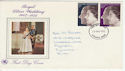 1972-11-20 Silver Wedding Stamps Plymouth FDC (61006)
