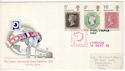 1970-09-18 Philympia Stamps London FDC (61014)