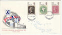 1970-09-18 Philympia Stamps Windsor FDC (61015)
