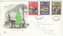 1970-11-25 Christmas Stamps Windsor FDC (61016)