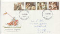 1985-09-03 Arthurian Legend Stamps Cardiff FDC (61022)