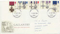1990-09-11 Gallantry Stamps Cardiff FDC (61025)