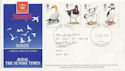 1989-01-17 Birds Sunday Times Gwent FDC (61030)