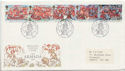 1988-07-19 Armada Stamps Plymouth FDC (61037)