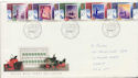 1988-11-15 Christmas Stamps Bethlehem FDC (61039)