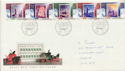 1988-11-15 Christmas Stamps Bethlehem FDC (61040)