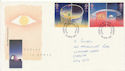 1991-04-23 Europe in Space Stamps Cardiff FDC (61041)