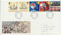 1992-04-07 Europa Events Stamps Cardiff FDC (61043)