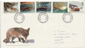 1992-01-14 Wintertime Stamps Cardiff FDC (61046)
