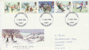 1990-11-13 Christmas Stamps Cardiff FDC (61047)