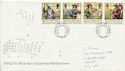 1992-06-16 Civil War Stamps Cardiff FDC (61049)