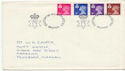 1971-07-07 Definitive Stamps Belfast FDC (61071)