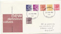 1976-02-25 Definitive Stamps Gwent FDC (61092)