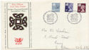 1978-01-18 Wales Definitive Stamps Cardiff FDC (61096)
